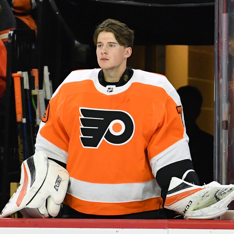 Flyers recall Carter Hart, who may make his debut Tuesday