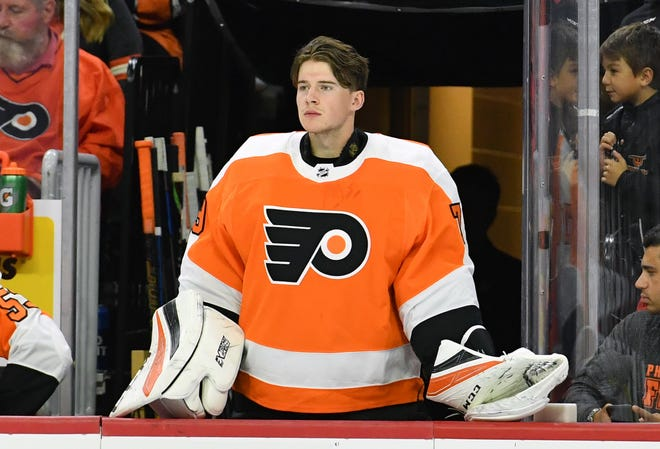 Carter Hart had the best numbers of any Flyers goalie in the preseason. It appears as though Tuesday he will make his NHL debut.