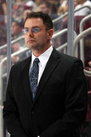 Scott Gordon is in his fourth season as coach of the Lehigh Valley Phantoms. He signed a contract extension back in March.