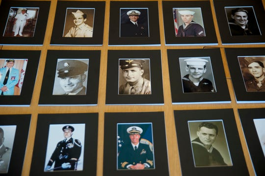 Photographs of past and present Cherry residents who have served in the military and in war will be part of a veterans Wall of Honor exhibit opening at the Cherry Hill Public Library on November 18.
