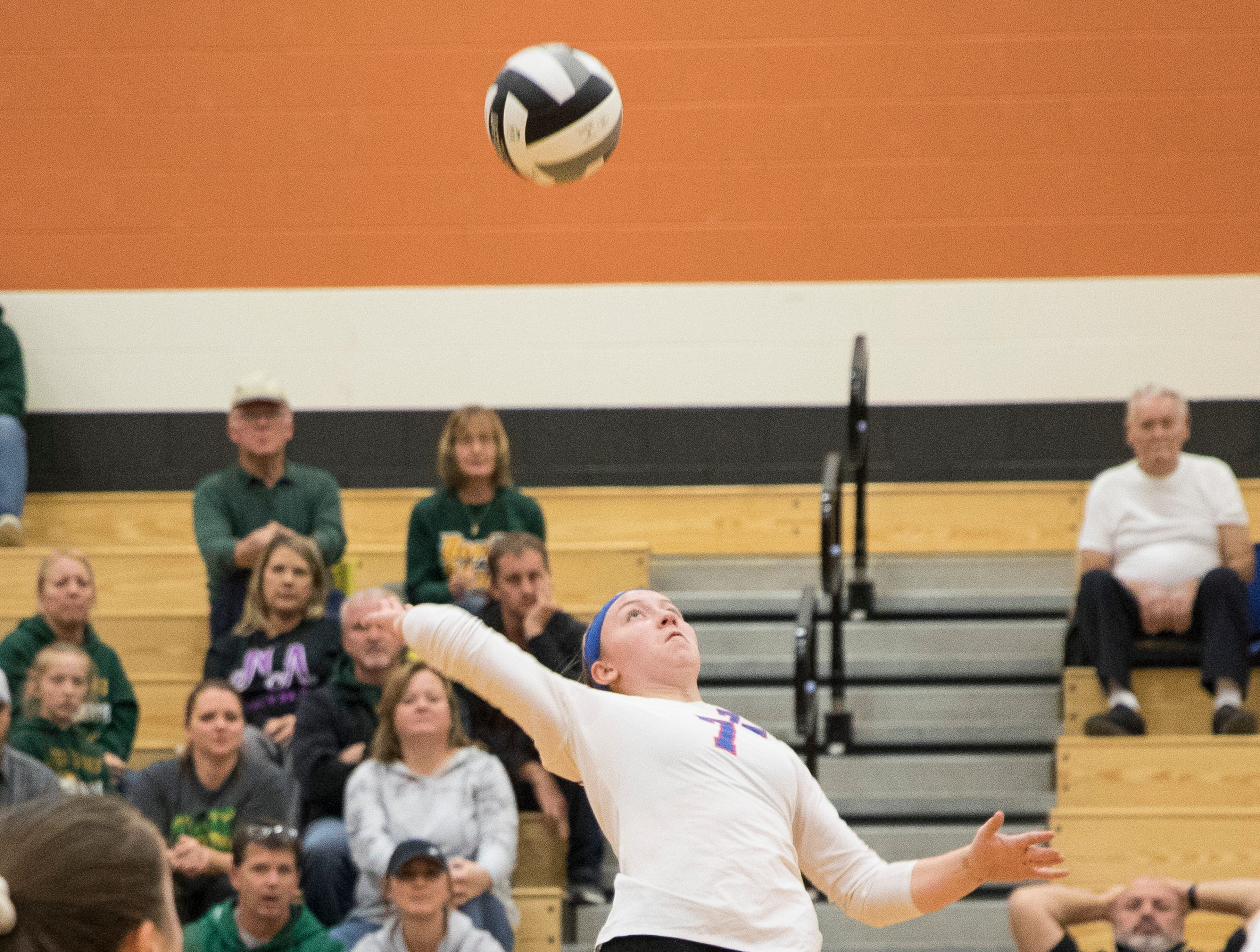 Zane Trace defeated North Adams Wednesday night 3-0 at Waverly High School in Waverly, Ohio, advancing them to the district finals in Division III against Southeastern Saturday.
