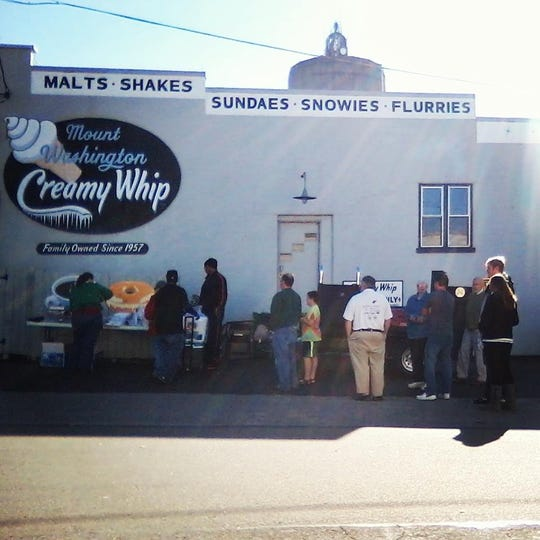 The parking lot of the Mount Washington Creamy Whip was the first home of Sweets & Meats.