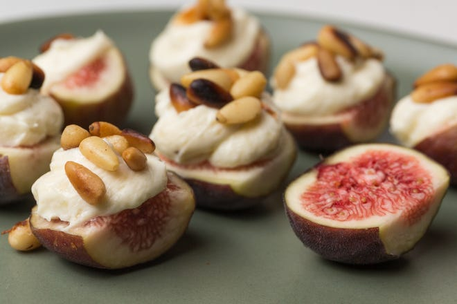 Figs take new leaps with this fennel mascarpone.