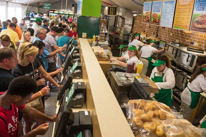 The Whitehouse Station-based QuickChek chain was one of eight retailers to be highlighted as part of the 2018 NACS Ideas 2 Go program at the National Association of Convenience Stores national convention in Las Vegas on Oct. 9.