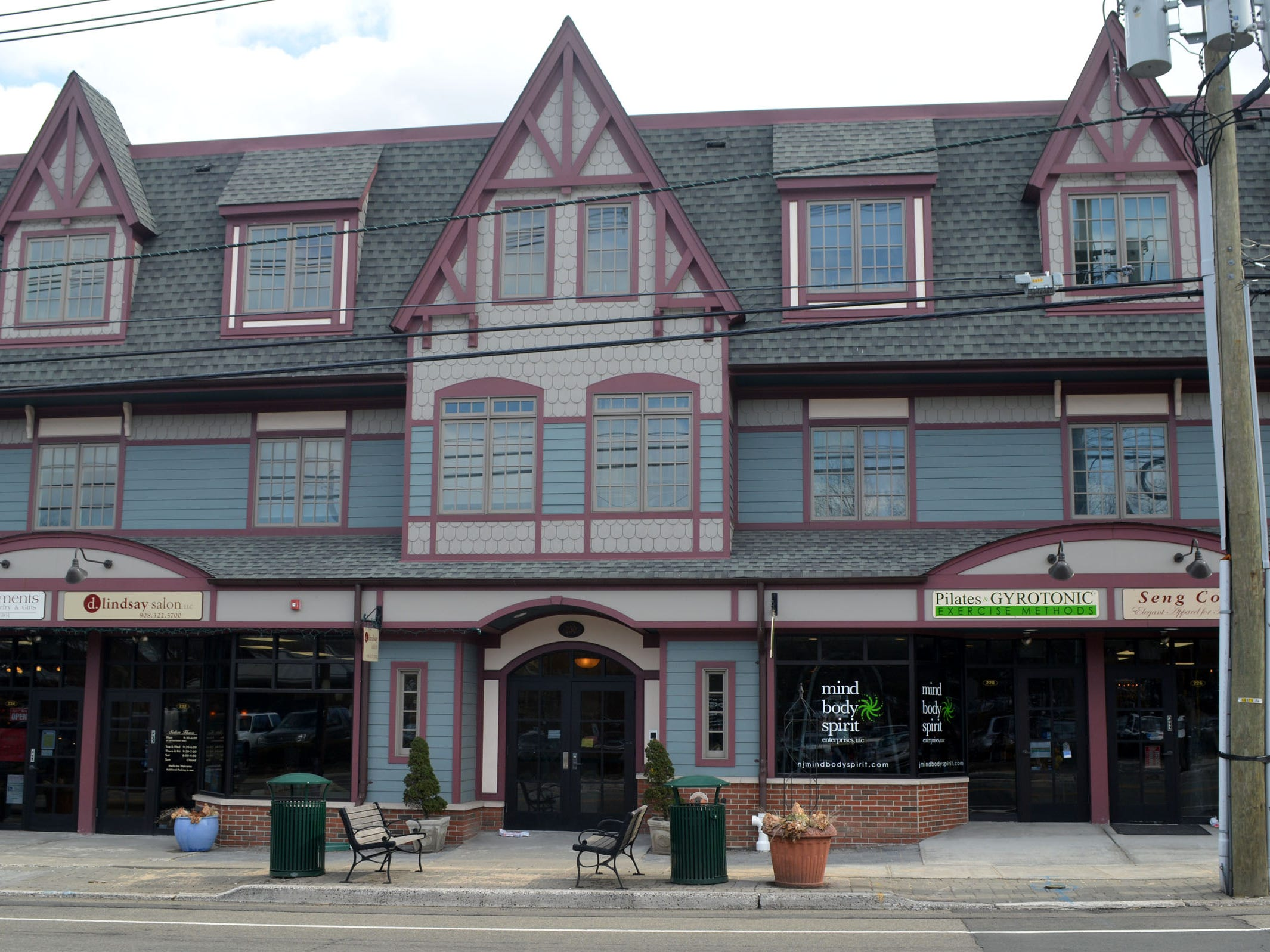 230 South Ave. in Fanwood was developed by Helen Lang, owner for the past 29 years of the Enchantments shop of handcrafted items. She built this multi-use property at the site of her original store.