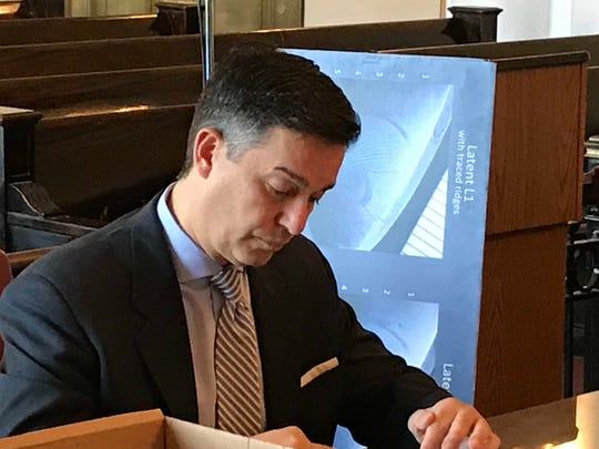 Union County Assistant Prosecutor Albert Cernadas Jr.