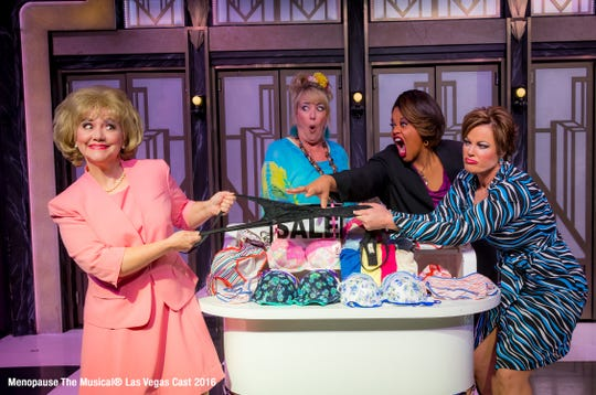 """State Theatre New Jersey in New Brunswick will present""""Menopause The Musical"""" at 2 and 8 p.m. on Saturday, Nov.10.Tickets range from $29 to $49."""