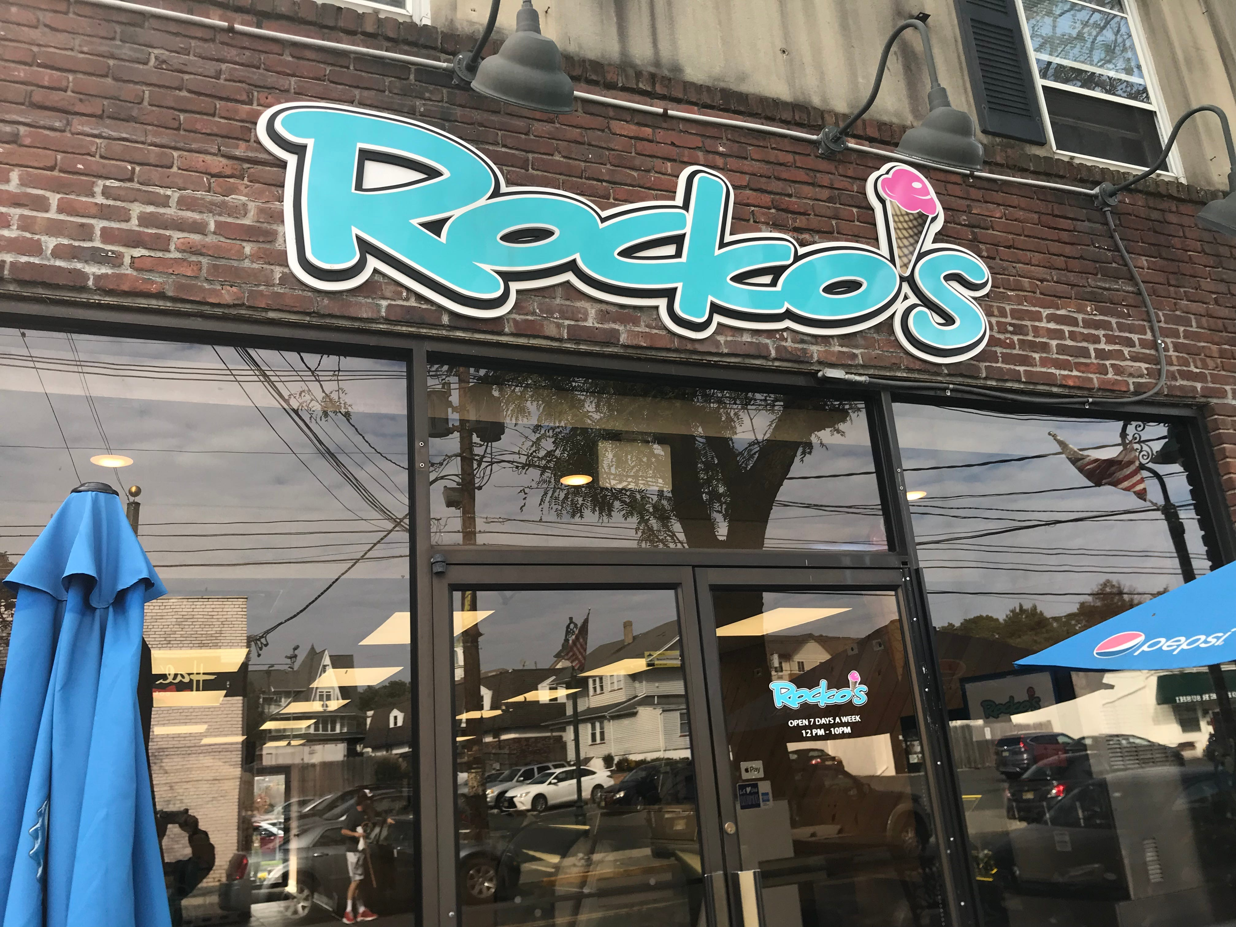 Rocko's ice cream shop on Martine Avenue is among Fanwood's new businesses.