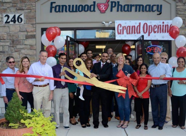 Grand opening of Fanwood Pharmacy in Fanwood Crossing II.