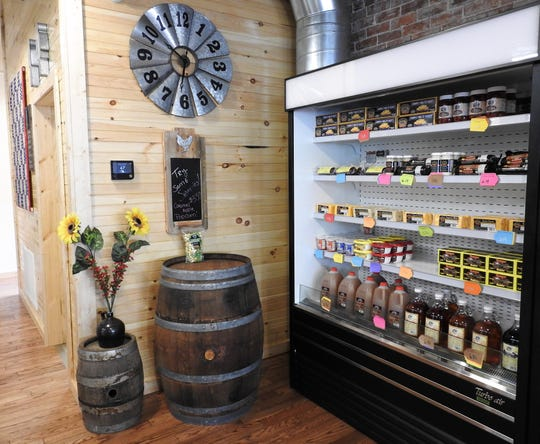 Ridgewood General Store features local items from across the region and other small businesses. The owners, Jay and Sue Davis, want to support other small businesses.
