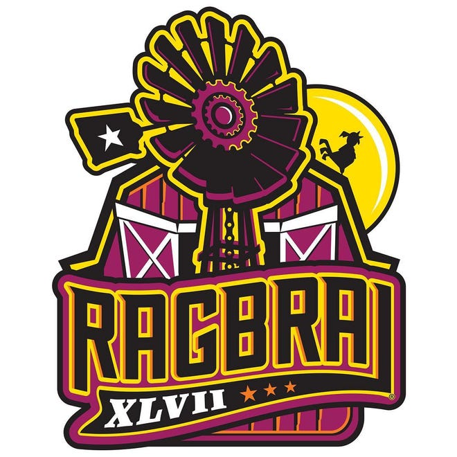RAGBRAI unveiled its 2019 logo on Oct. 25. The ride is set for July 21-27, 2019.