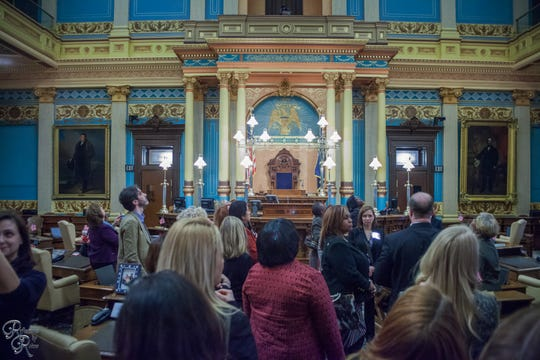 "Inforum launched its ""Under the Dome"" program six years ago to inspire more women to run for public office. It includes networking  events in Lansing to meet with leaders."