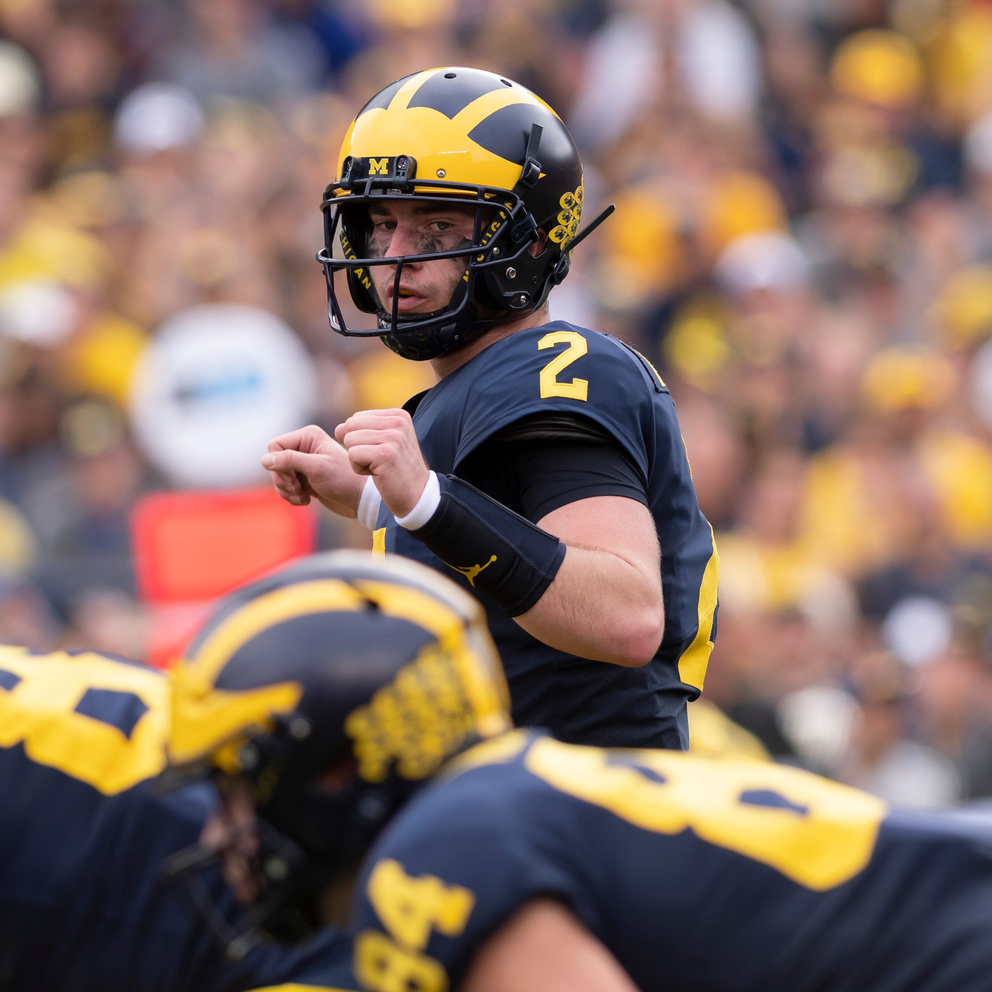 Patterson paves winning way for 'playoff ready' Michigan
