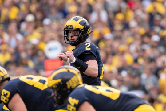 Michigan quarterback Shea Patterson could have an NFL decision to make after this season.