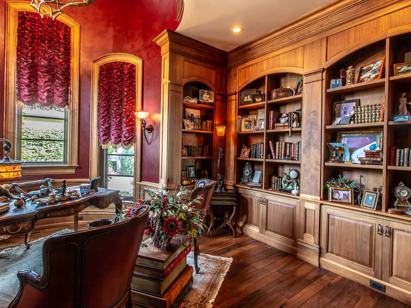 The custom library.