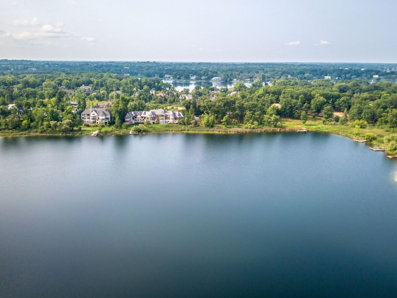 The view over Turtle Lake.