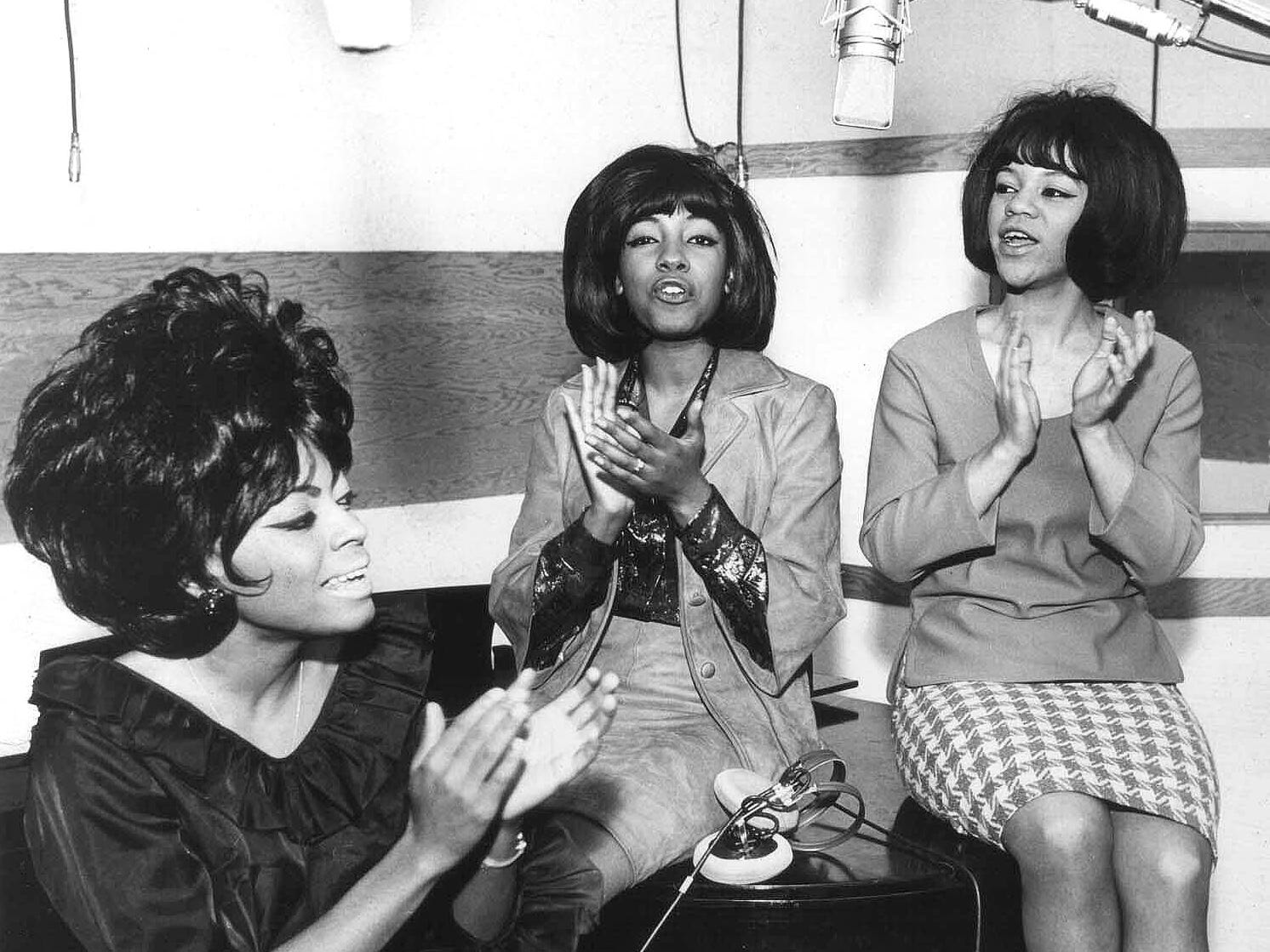 Diana Ross, left, and fellow Supremes Mary Wilson and Florence Ballard were one of Motown's signature acts,  recording 12 No. 1 hits between 1964 and 1969. Many of the songs were written and produced by Motown's premier songwriting and production team, Holland-Dozier-Holland.
