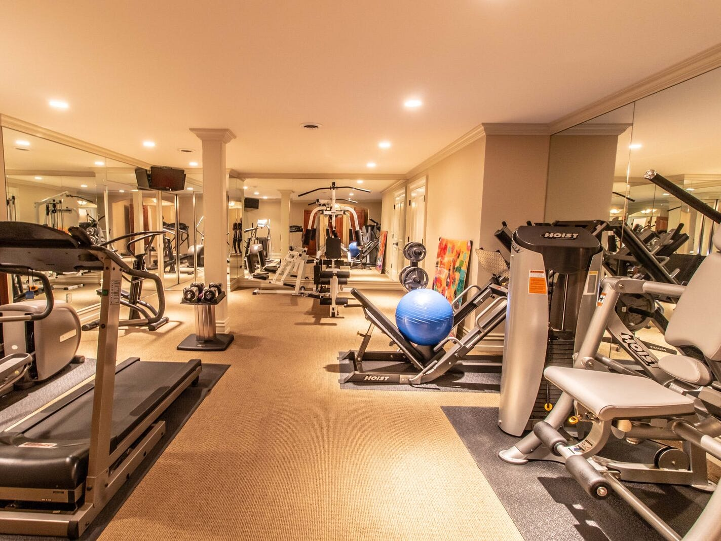 A gym without membership.