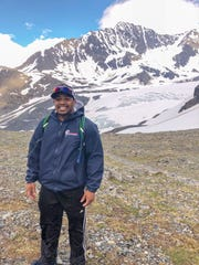 Kevin Moore enjoyed the beauty of Alaska while gaining broadcasting experience.