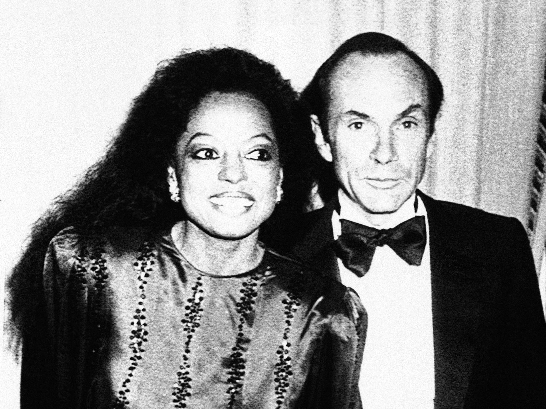In 1985, Diana Ross met Norwegian shipping magnate and noted mountaineer  Arne Naess in the Bahamas.  They would marry that year and would have two sons,  Ross Arne Naess  (born in 1987) and Evan Olav Naess (born in 1988).