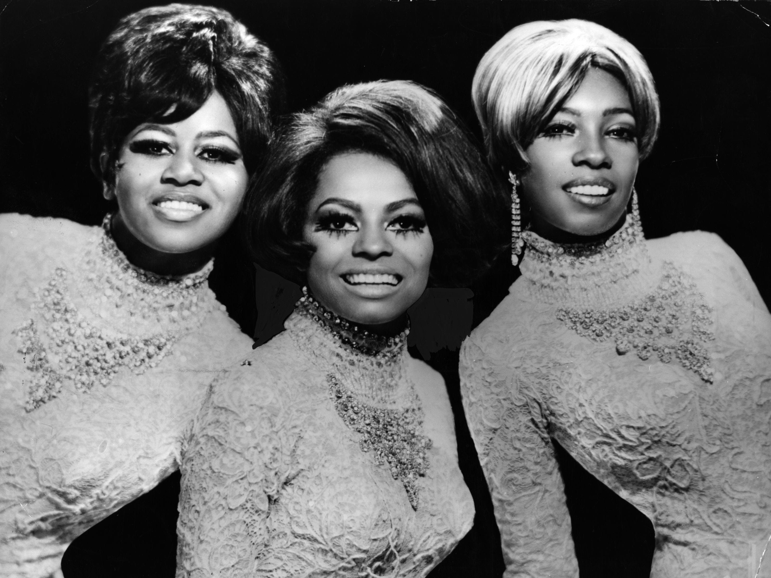 "The Supremes were by now called Diana Ross and the Supremes, to lay the groundwork for Ross' solo career. This 1969 Wilson-Ross-Birdsong publicity photo was likely their last. ""Someday We'll Be Together"" in 1969 was the group's 12th No. 1 song."