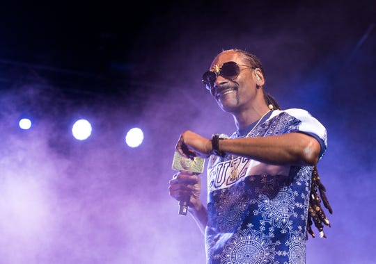 See Snoop Dogg at the Aretha Franklin Amphitheatre July 5.