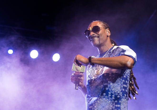 "Snoop Dogg stars in the ""Redemption of a Dogg"" at the Music Hall."
