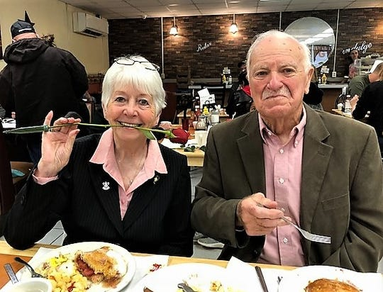 Beverly and Harland Evans of Millerton will celebrate 66 years of marriage in November.