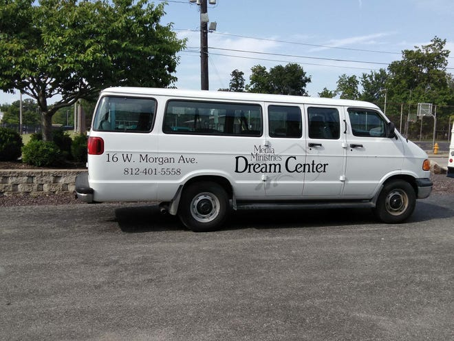 Two 15-passenger vans were stolen from the Dream Center overnight Wednesday. One was recovered Wednesday afternoon, but the other is still missing.