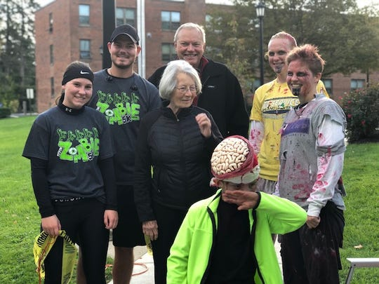 CASA of Seneca, Sandusky and Wyandot Counties recently held the Tiffin Zombie Run 5K where runners donned their best zombie looks.