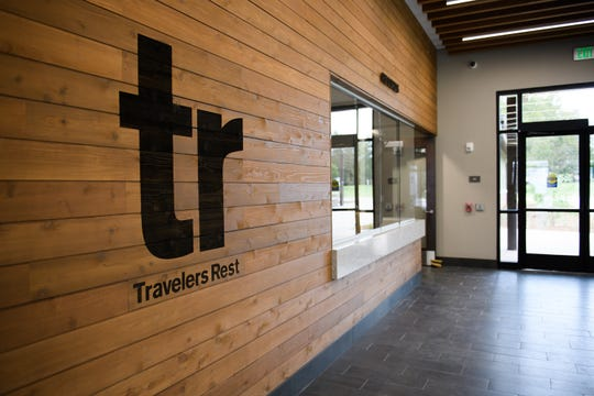 Cit officials move into the new Travelers Rest municipal building on Thursday, Oct. 25, 2018.