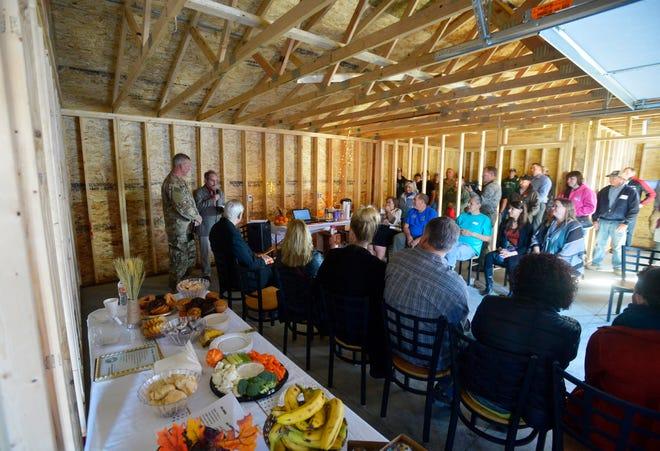 The Grace Home Veterans Center held a ribbon cutting for their new garage, Thursday morning.