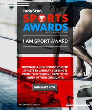 IndyStar Sports Awards 'I Am Sport' award