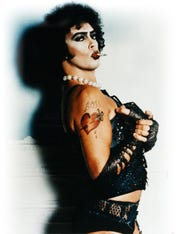 Tim Curry is Dr. Frank-N-Furter in The Rocky Horror Picture Show. from the internet