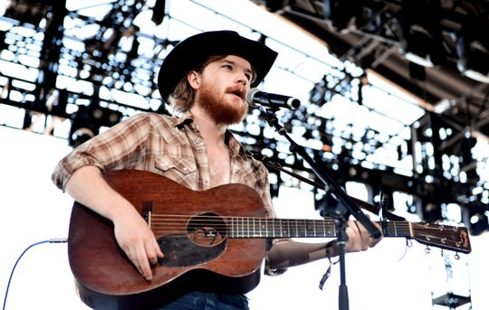 Colter Wall will perform Aug. 3, 2019, at Hinterland Music Festival.