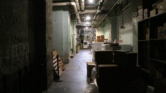 The basement and original stables at the Indiana Statehouse in Indianapolis Ind. on Wednesday, Oct. 24, 2018. Ind. St. Capitol Police Officer, Scott Alexander gave the IndyStar a tour of the haunted Indiana Statehouse