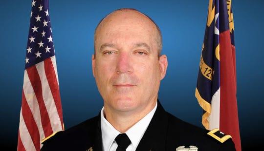 Maj. Gen. Greg Lusk, Adjutant General of the North Carolina National Guard