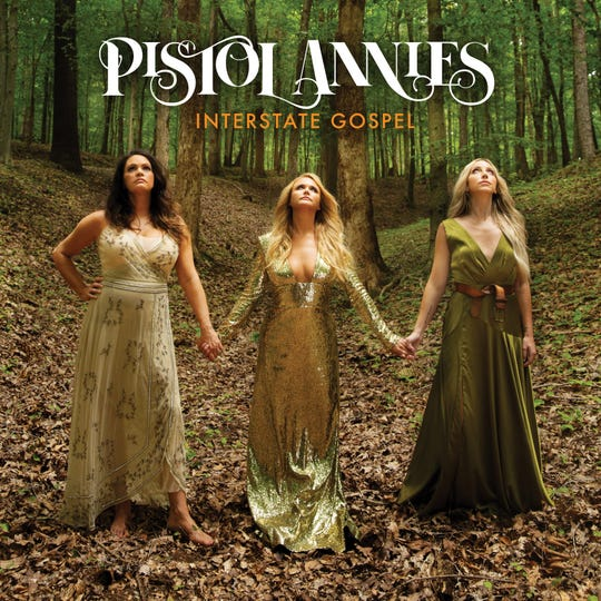"""The Pistol Annies' newest album, """"Interstate Gospel,"""" will release on Nov. 2. The group is made up of  Angaleena Presley, Miranda Lambert and Knoxville's Ashley Monroe."""