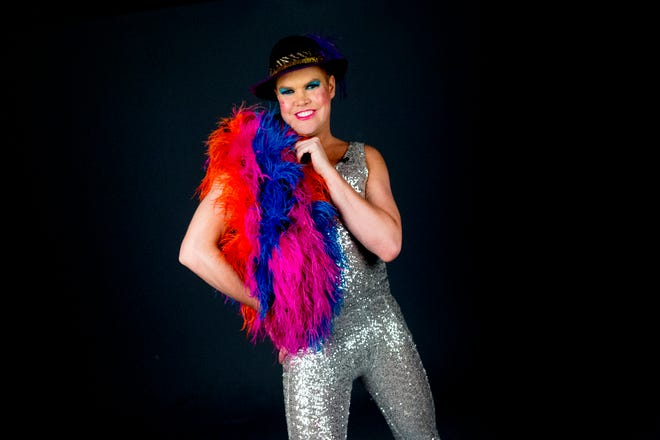 """Former """"America's Got Talent"""" contestant Hans poses in the News Sentinel Photo Studio in Knoxville, Tennessee on Wednesday, October 24, 2018."""