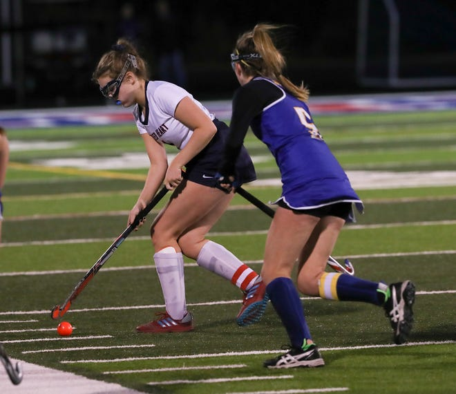 Sacred Heart battled KCD in the KHSAA Field Hockey Championship. Oct. 24, 2018