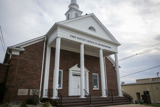First Baptist Church of Jeffersontown is believed to be the first attempted target of the shooter in the fatal Jeffersontown Stony Brook Kroger shooting on October 25, 2018.