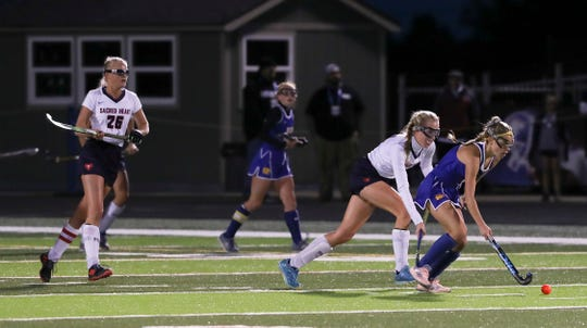Sacred Heart battled KCD in the KHSAA Field Hockey Championship. 