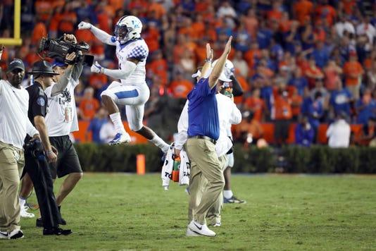 Davonte Robinson Florida Touchdown