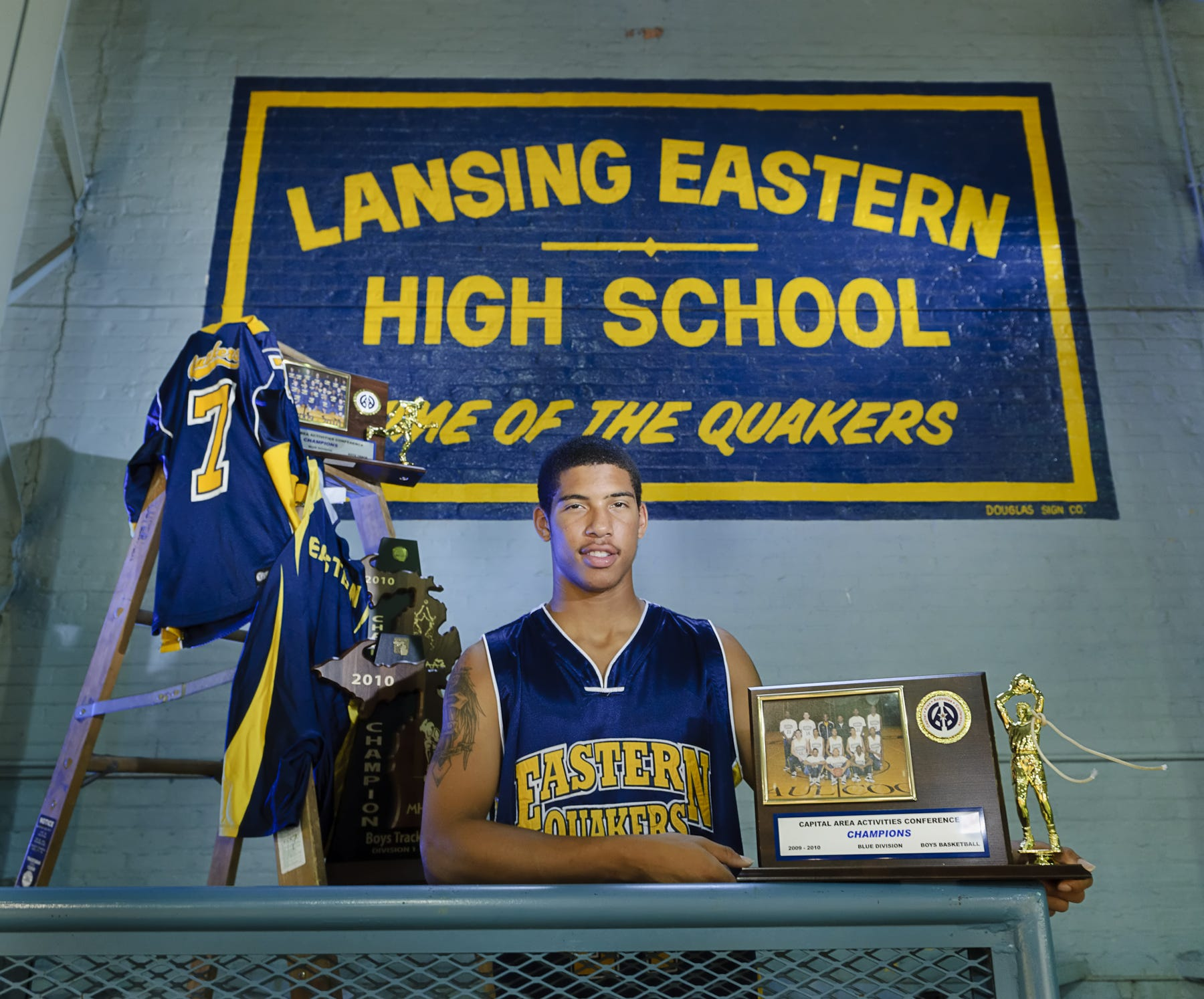 Cameron Sanchez, formerly of Lansing Eastern High School, was the State Journal's 2010 male Athlete of the Year. He's expected to play for the ABA's Lansing Legends this season.