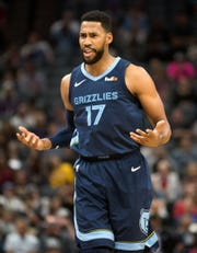 Garrett Temple has gone cold from 3 over the Grizzlies' last 13 games.