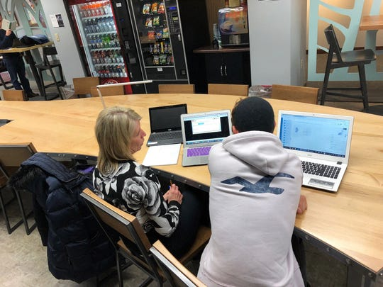 Students often meet with teachers at local libraries if they need help with their work through the Wauwatosa Virtual Academy.