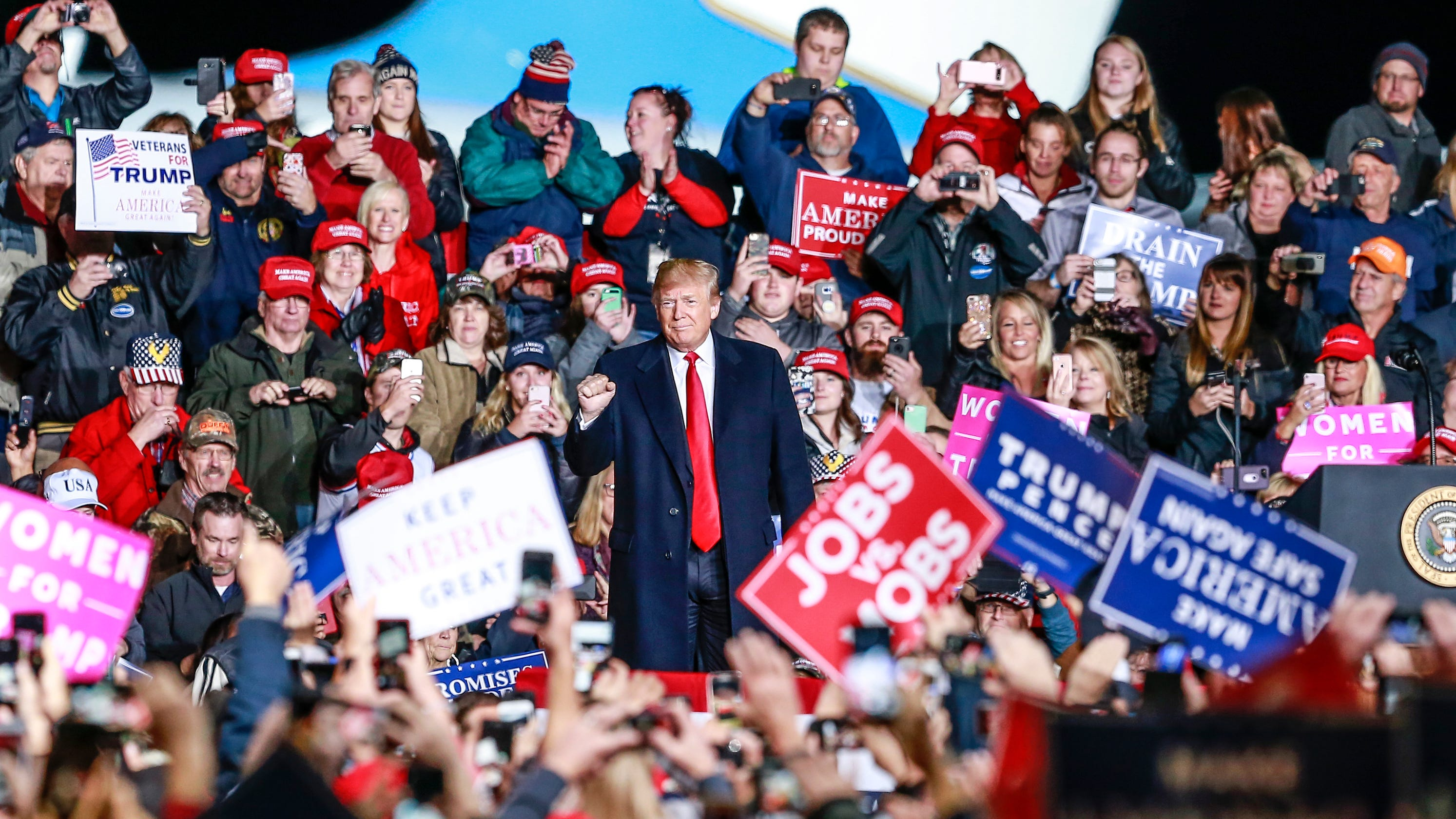 Trump holds rally in Janesville today as cases of coronavirus soar in Wisconsin