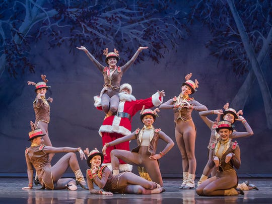Be ready for a show full of holiday cheer with Alabama Dance Theatre's production of Mistletoe.