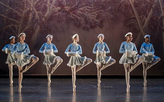 Alabama Dance Theatre presents Mistletoe at the Alabama Shakespeare Festival.