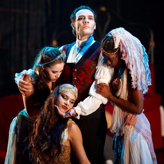 Fright & Delight: Dracula and Mistletoe ballets a reunion of
